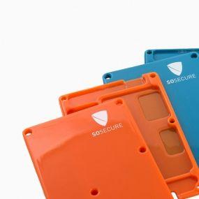 Plastikowe obudowy do dysków SSD